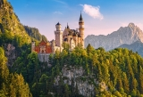 VIEW OF THE NEUSCHWANSTEIN CASTLE, GERMANY