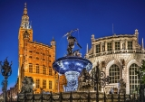GDANSK, NEPTUNE FOUNTAIN