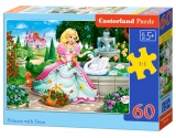 Puzzle Castorland Princess with Swan 60 Dielikov