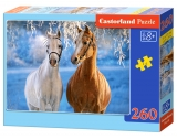 Castorland Puzzle The Winter Horses 260 dielikov