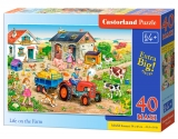 Puzzle Castorland Life on the Farm 40 dielikov