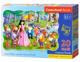 Puzzle Castorland Snow White and the Seven Dwarfs 20 dielikov
