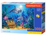 Castorland Puzzle Dolphin Family 300 dielikov