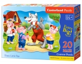 Puzzle Castorland Three Little Pigs 20 dielikov