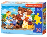 Puzzle Castorland Goldilocks and Tree Bears  30 Dielikov