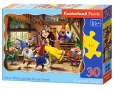 Puzzle Castorland Snow White and the Seven Dwarfs  30 Dielikov