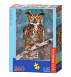 Puzzle Castorland Great Horned Owl 260 dielikov