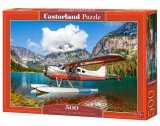 Castorland Puzzle Floatplane on Mountain Lake 500 Dielikov