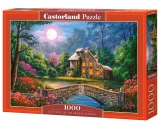Castorland Puzzle Cottage in the Moon Garden 1000 Dielikov
