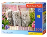 Castorland puzzle Three Grey Kittens 300 dielikov