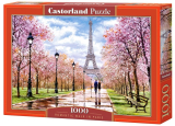 Puzzle Castorland Romantic Walk in Paris   1000 Dielikov