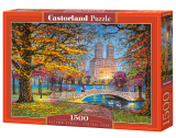 Puzzle Castorland Autumn Stroll, Central Park 1500 Dielikov