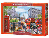 Puzzle Castorland Spring in London 2000 Dielikov