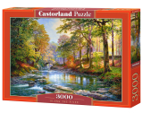Puzzle Castorland Along the River 3000 Dielikov