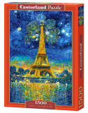 Puzzle Castorland Paris Celebration 1500 Dielikov