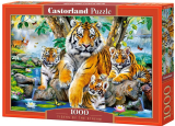 Puzzle Castorland Tigers by the Stream 1000 Dielikov