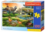 Puzzle Castorland World of Dinosaurs 100 DIelikov