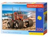 Puzzle Castorland Monster Truck on the Rocky Coast 200 dielikov