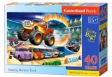 Puzzle Castorland Jumping Monster Truck 40 dielikov