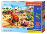 Puzzle Castorland Work on the Farm 20 dielikov