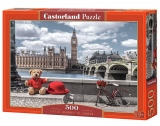 Castorland Puzzle Little Journey to London 500 Dielikov