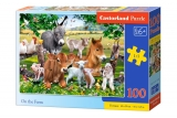 Puzzle Castorland On the Farm 100 dielikov