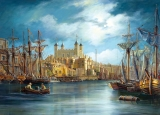Castorland Puzzle NEW DAY AT THE HARBOUR 3000 dielikov