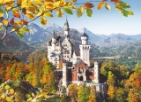 Castorland Puzzle View of the Neuschwanstein Castle,  Germany 3000 dielikov