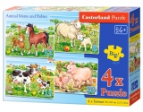 Animal moms and babies