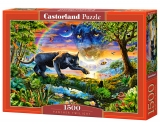 Castorland Puzzle Panther Twilight  1500 dielikov