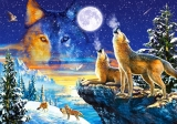 Castorland Puzzle HOWLING WOLVES 1000 dielikov