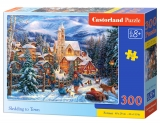 Castorland Puzzle SLEDDING TO TOWN 300 dielikov
