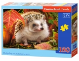 Castorland Puzzle Hedgehog in Autumn Leaves 180 dielikov