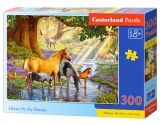 Castorland Puzzle Horses by the Stream 300 dielikov