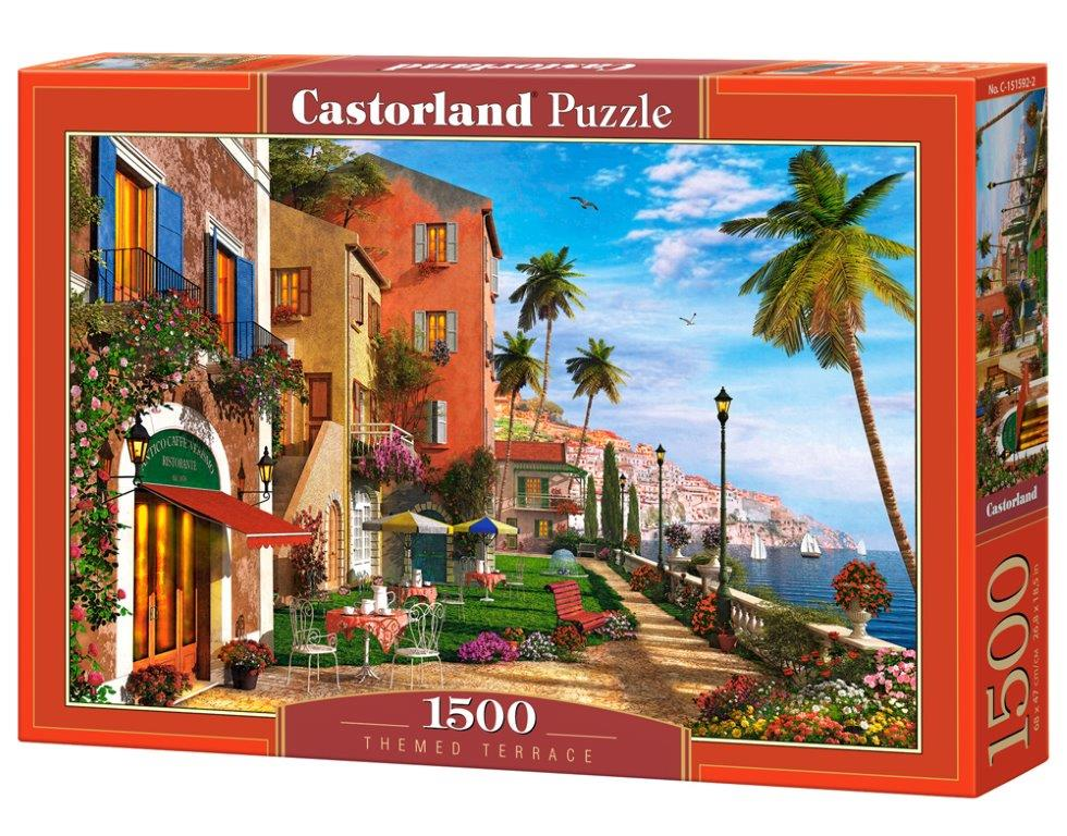 Puzzle Castorland Themed Terrace 1500 Dielikov
