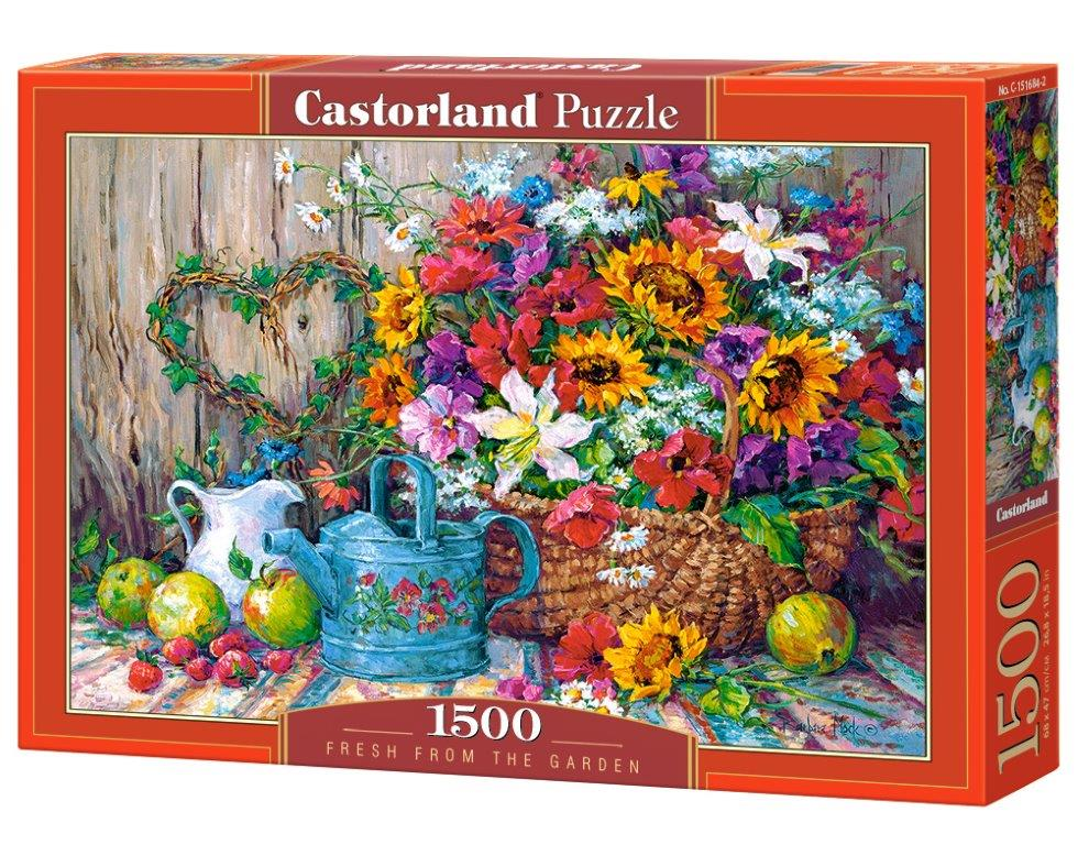 Puzzle Castorland Fresh from the Garden 1500 Dielikov