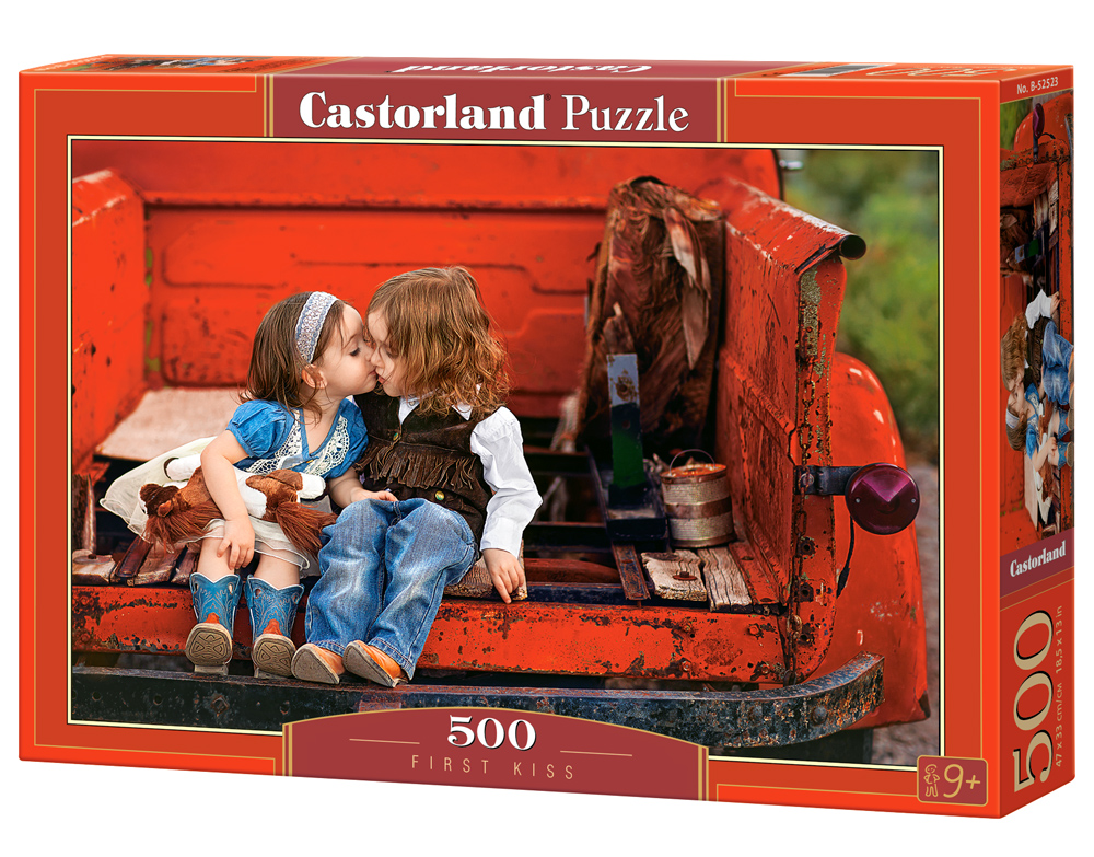 Castorland puzzle First-Kiss 500 dielikov
