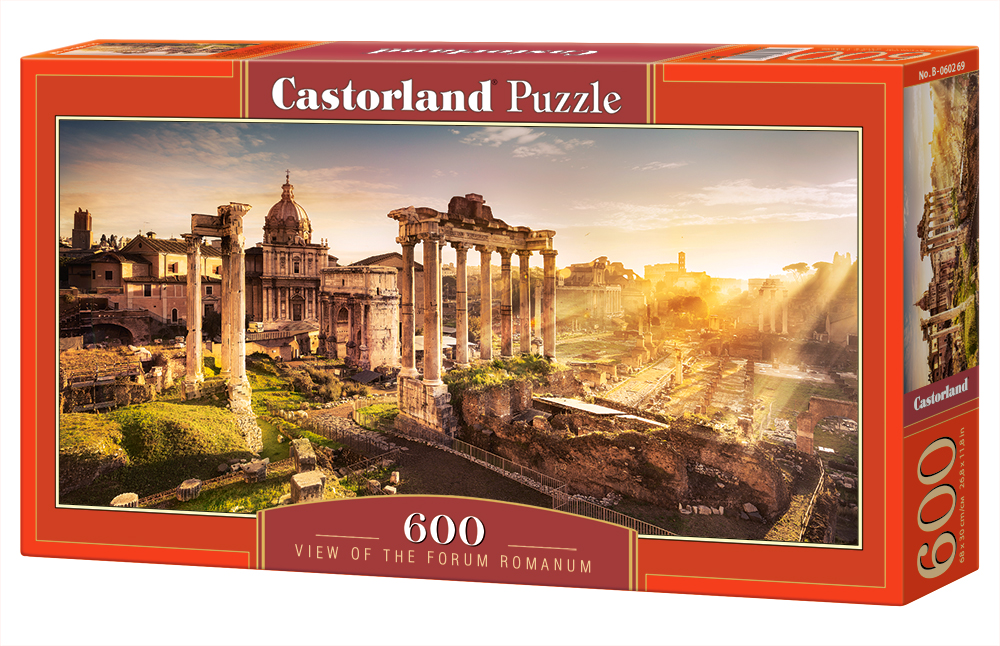 Castorland Puzzle View of the Forum Romanum 600 Dielikov