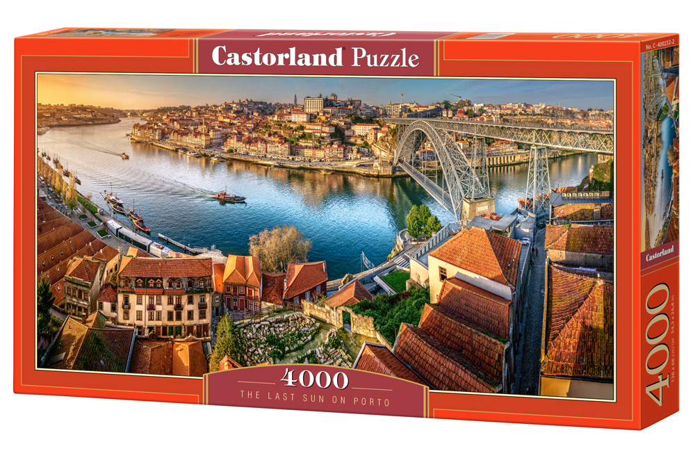 Puzzle Castorland The last sun on Porto 4000 Dielikov