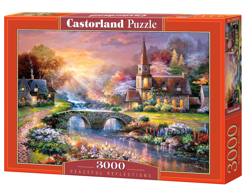 Puzzle Castorland Peaceful Reflections 3000 Dielikov