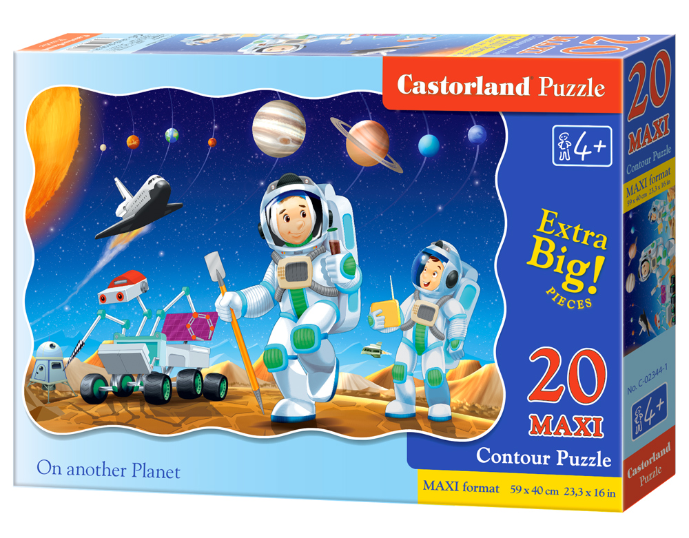 Puzzle Castorland On another Planet 20 dielikov