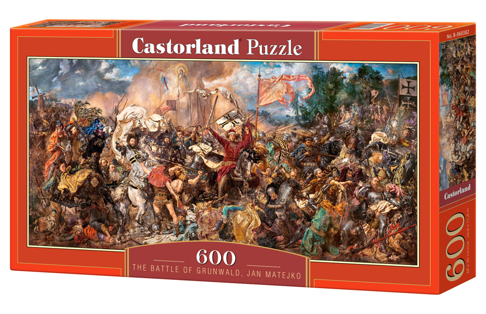 Castorland Puzzle The Battle of Grunwald, Jan Matejko 600 Dielikov