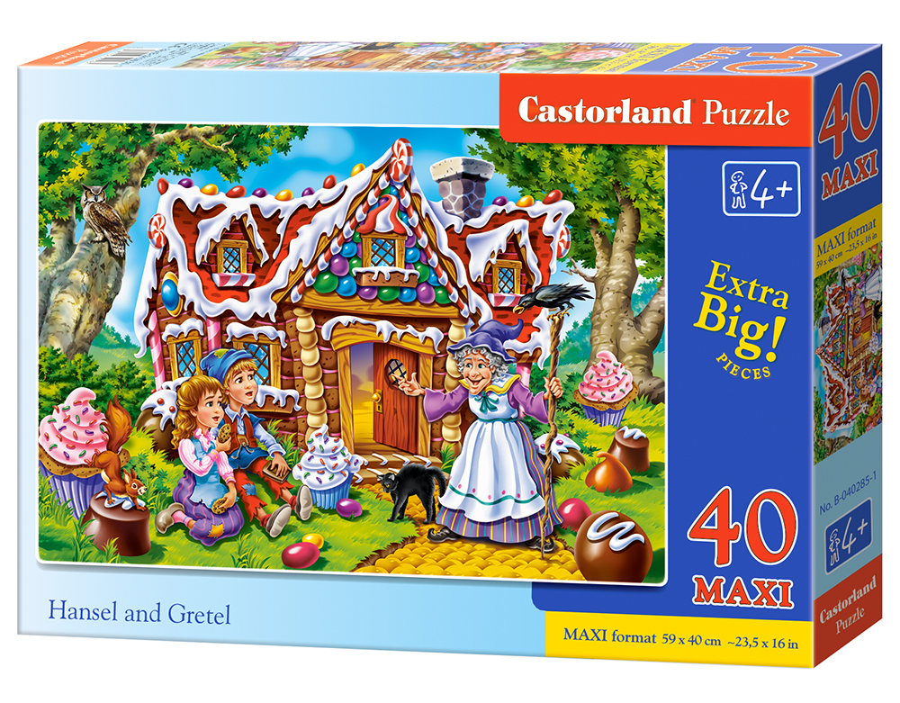 Puzzle Castorland Hansel and Gretel 40 dielikov
