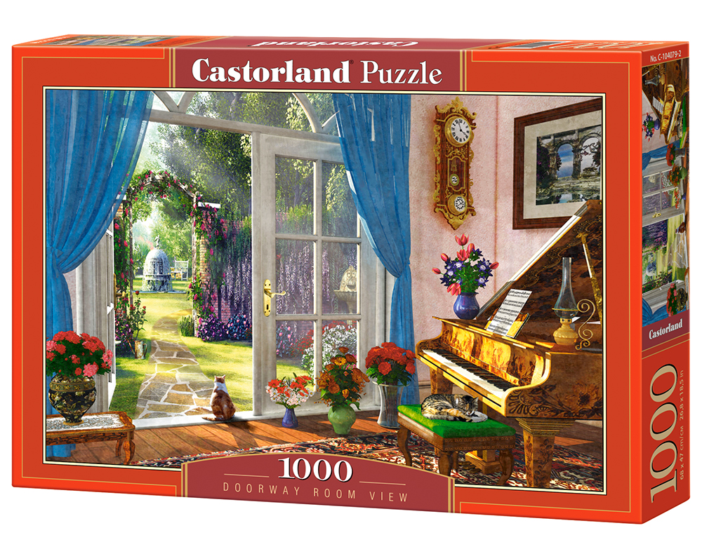 Castorland Puzzle Doorway Room View 1000 Dielikov
