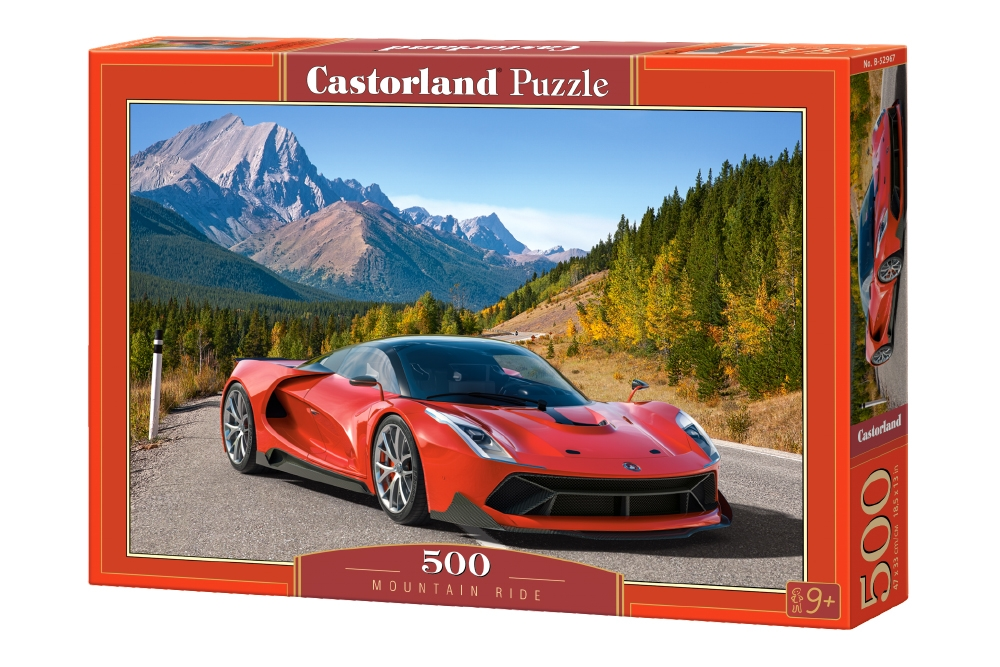 Castorland Puzzle Mountain Ride 500 Dielikov