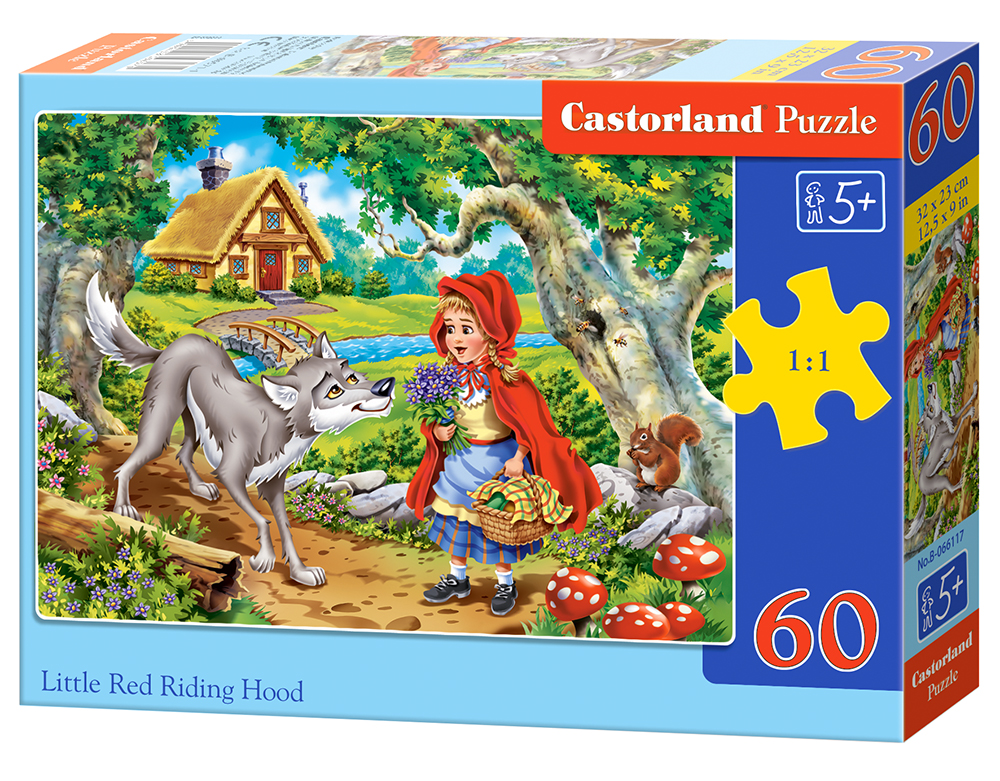 Puzzle Castorland Little Red Riding Hood 60 Dielikov
