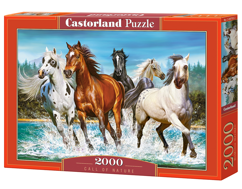 Puzzle Castorland Call of Nature 2000 Dielikov