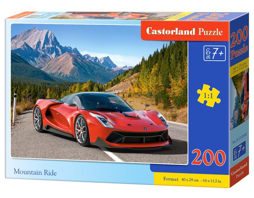 Puzzle CAstorland Mountain Ride 200 dielikov