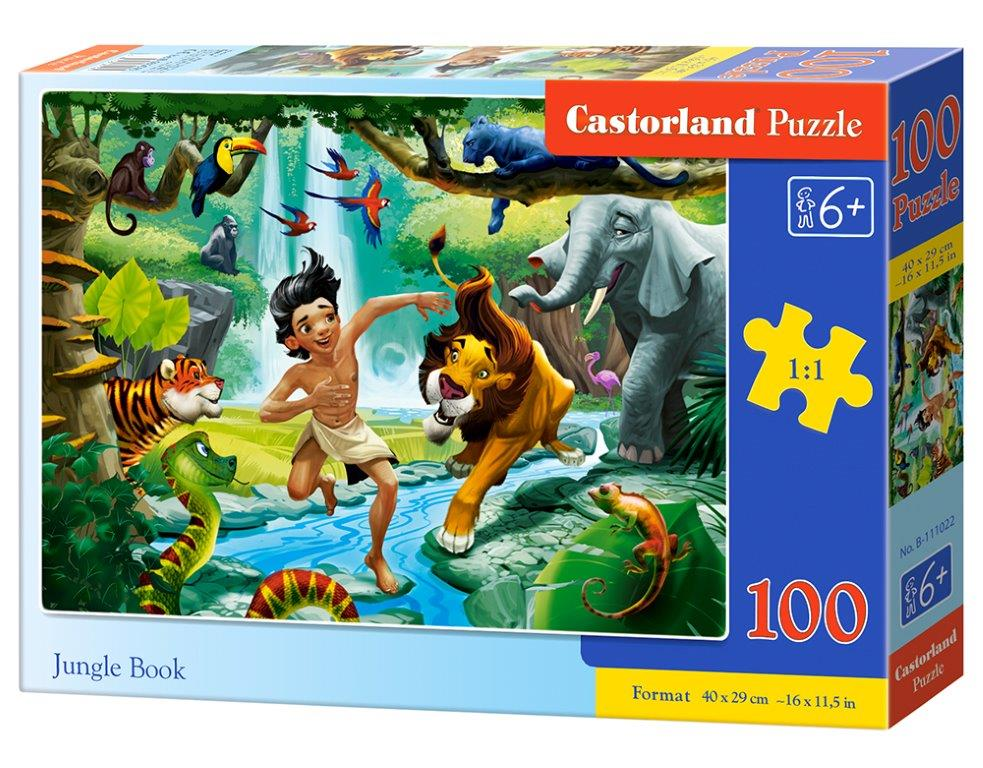 Puzzle Castorland Jungle Book 100 DIelikov