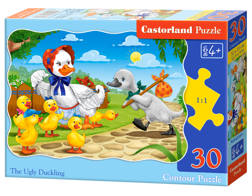 Puzzle Castorland The Ugly Duckling  30 Dielikov